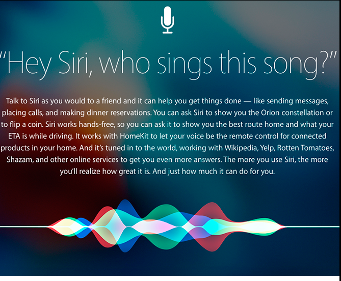 optimising for voice search - talk to Siri like a human, not a robot